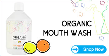 Organii natural skin care - Organic mouthwash