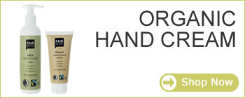 Fair Squared organic and natural skin care - organic hand cream