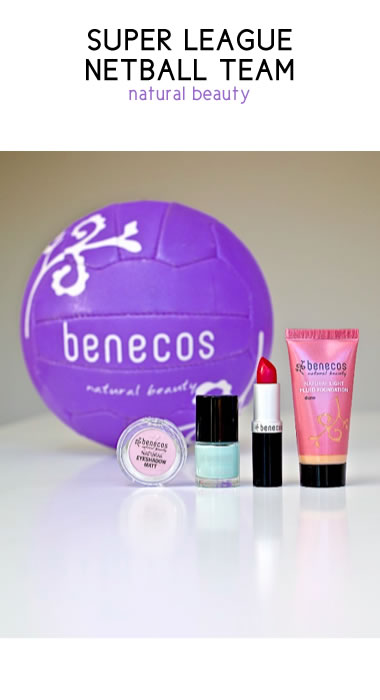 benecos natural beauty - benecos sponsorship deal with super league netball team