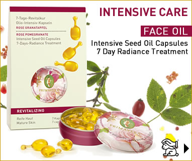 Primavera certified natural aromatherapy - Intensive Seed Oil Capsules for Face!