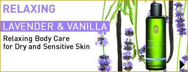 Primavera certified skincare - Relaxing Body Care for Dry and Sensitive Skin