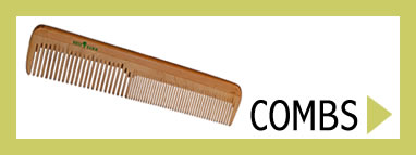 Kost Kamm Natural Brushes - Natural Wooden Combs for Men & Women