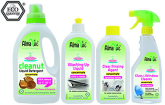 Alma Win Certified Organic Household Cleaning Products