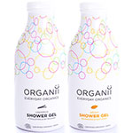 Organii Licquorice and argan shower gel set christmas