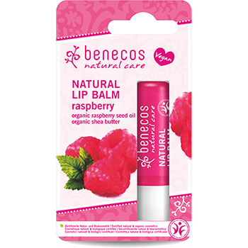 Benecos Natural Lip Balm Raspberry