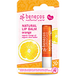 Benecos Organic Lip Balm Orange Natural