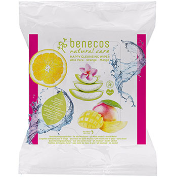 Benecos Facial Cleansing Wipes Natural Wipes Organic
