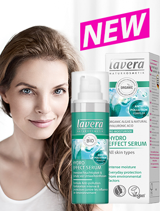 Lavera NEW Hydro effect serum