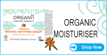 Organii Organic Moisturiser for Sensitive Skin