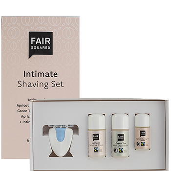 Fair Squared Intimate Shaving Set Women's Hair Removal