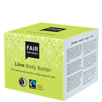 Fair Squared Lime Body Butter Organic Body Lotion