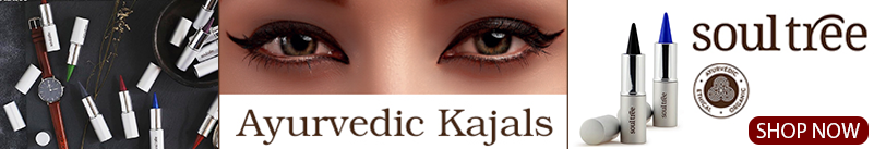 Soultree Ayurvedic Kajals - colour kohl
