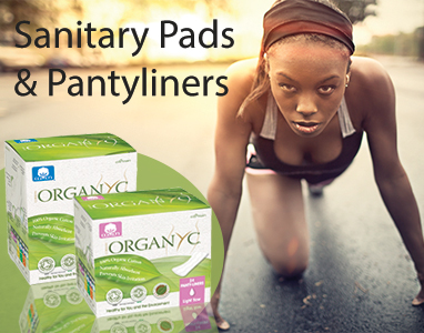 Organyc Organic Cotton Sanitary Pads and Pantyliners