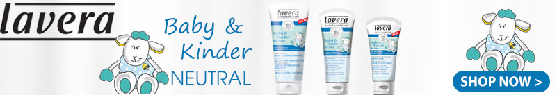 Lavera natural cosmetics baby and child neutral