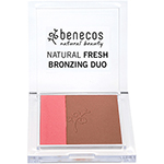 benecos bronzing duo california nights natural bronzer