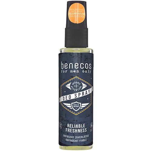 Benecos Deo Spray Organic Deodorant Mens Deodorant
