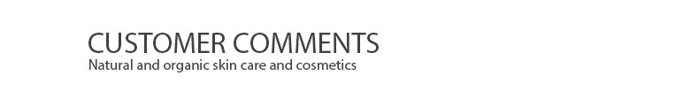 Lavera Organic and Natural Cosmetics - Customer Comments