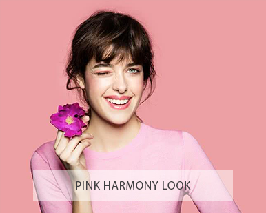 Lavera natural and organic cosmetics - lavera make up pink harmony look