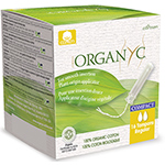 Organyc Compact Applicator Tampons Organic Tampons