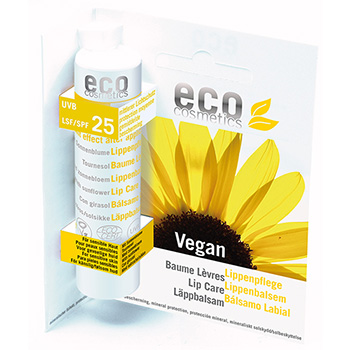 Eco Cosmetics Lip Balm with SPF25 Organic Lip Balm