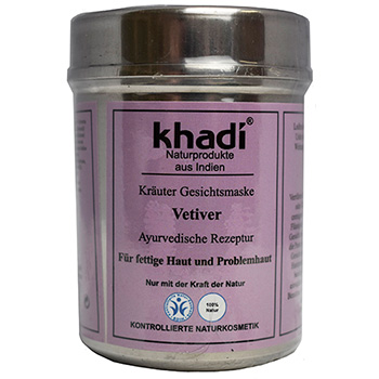 Khadi Herbal Face Mask Vetiver Natural Faced Mask