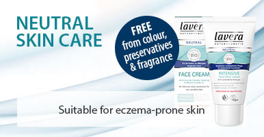 Lavera Natural and Organic Skin Care - Neutral range for Very Sensitive and easily irritated skin