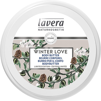 Lavera Organic Body Butter Winter Love Organic Vanilla and Almond