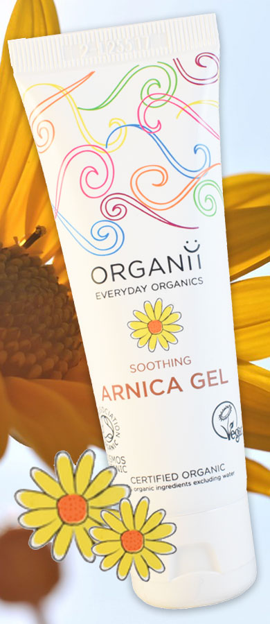 ORGANii Every Day Organics - Organic Skin Care Soothing Arnica Gel
