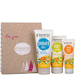 Benecos Sea Buckthorn and Orange Body Care Gift Set on Offer