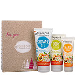 Benecos Body Care Set Apricot and Elderflower Gift Set