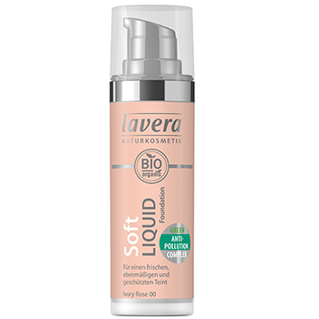 Lavera Soft Liquid Foundation Organic Foundation Ivory Rose