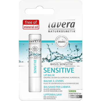 Lavera Organic Lip Balm Basis Sensitiv Sensitive Lip Balm