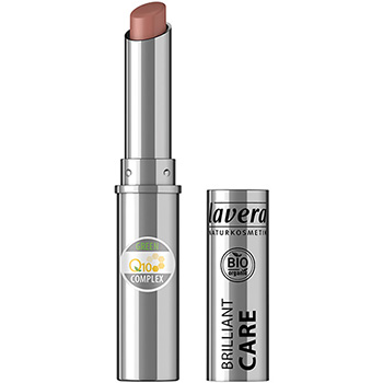 Lavera  Brilliant Care Lipstick Q10 Light Hazel Organic Lipstick