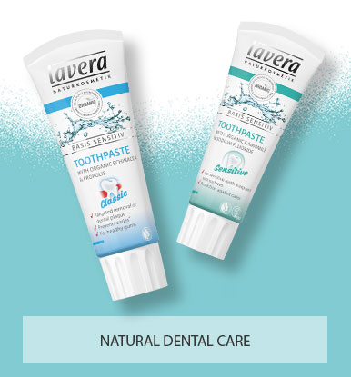 Lavera Natural and Organic Skin Care - Organic Toothpaste