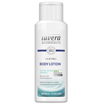 Lavera Neutral Body Lotion Fragrance Free Sensitive Skin Organic