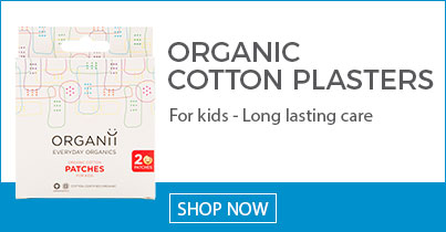 ORGANii Everyday Organics - 100% Organic Cotton Plasters