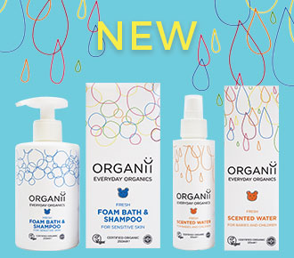 ORGANii Organic skincare Baby and Child natural and organic skin care