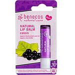 Benecos Natural Lip Balm Cassis Blackcurrent Vegan Lip Balm