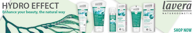Lavera natural cosmetics natural and organic skin care - Hydro Effect Skin Care