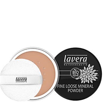 Lavera Fine loose Mineral Powder Almond 05 Loose Powder Pravera