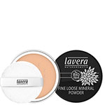 Lavera Fine Loose Mineral Powder Honey 03 Loose Powder Pravera