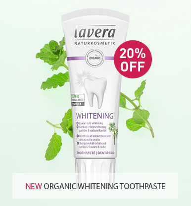 20% OFF Lavera New Whitening Toothpaste