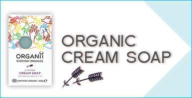 ORGANii Organic Soap - Organic and Natural Cream Soap