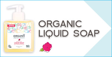 ORGANii Organic Soap - Organic and Natural Liquid Soap