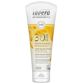 Lavera Organic Sun Cream SPF30 Sensitive Sun Cream Pravera