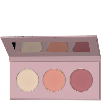 Lavera Limited Edition Blush Palette Coral Bloom Natural Blush