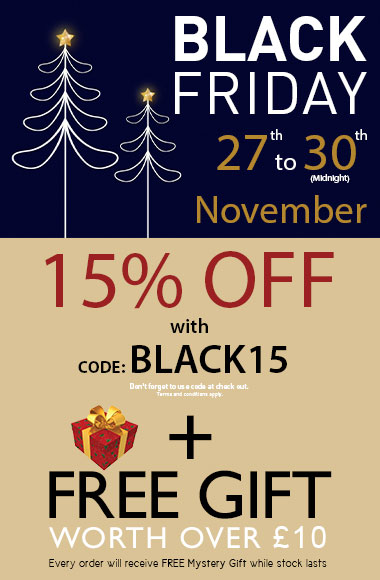 Fair Squared 100% Natural - Black Friday Offer 15% OFF plus free mystery gift with Code BLACK15