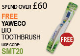 Free beauty spend over £60 Get FREE Yaweco Bio Toothbrush