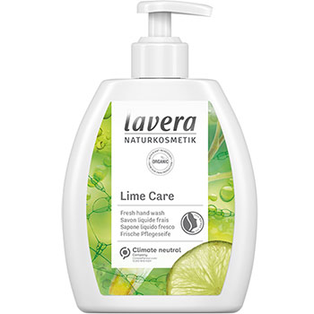 Lavera Lime Care Organic Hand Wash with Organic Lime and Lemongrass