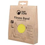 Fair Zone Fitness Band Rubber Resistance Band Fair Trade Yellow